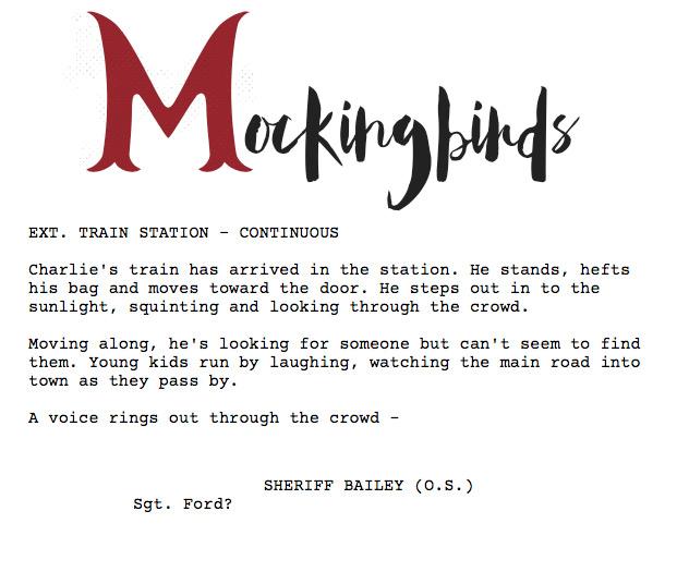 Mockingbirds-Script