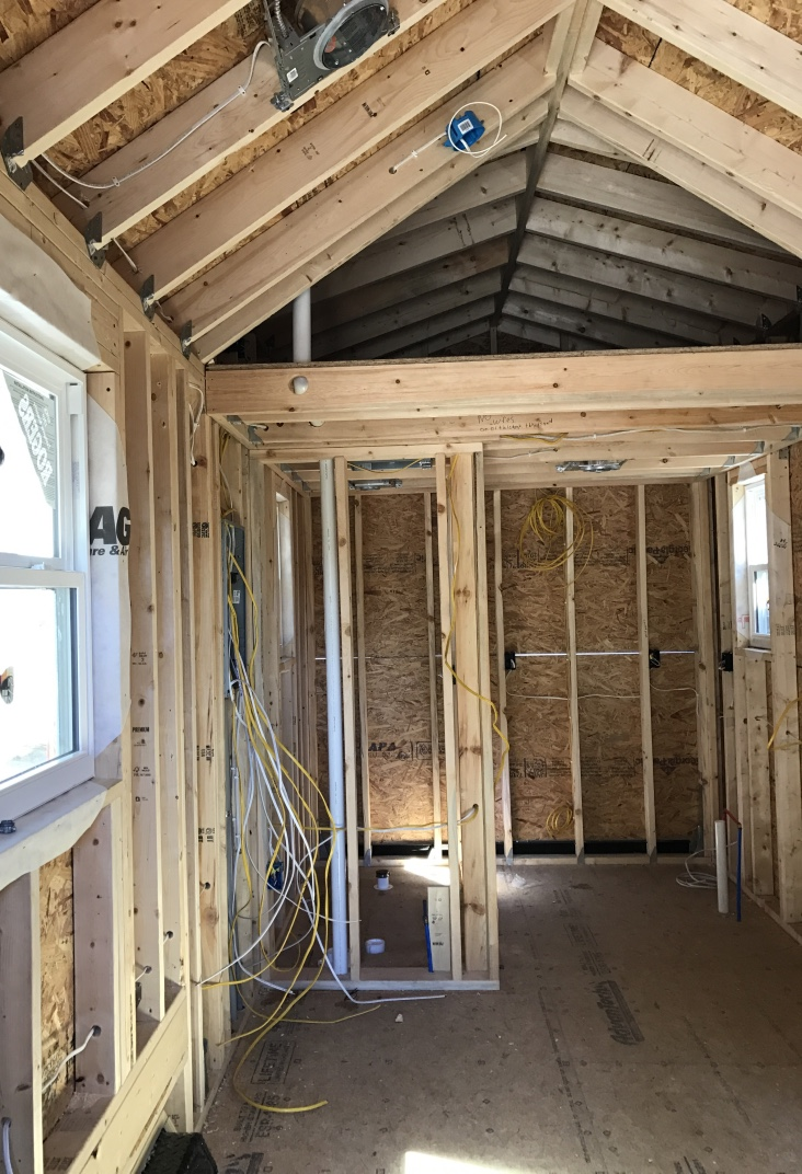 where to put a tiny house. lee county tiny house project nears completion where to put a s