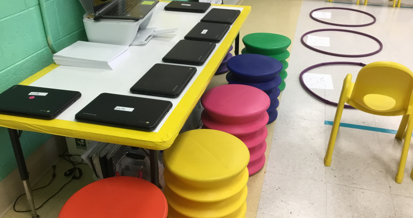 Innovative Elementary Classrooms ~ Classroom innovation visible at letcher elementary the
