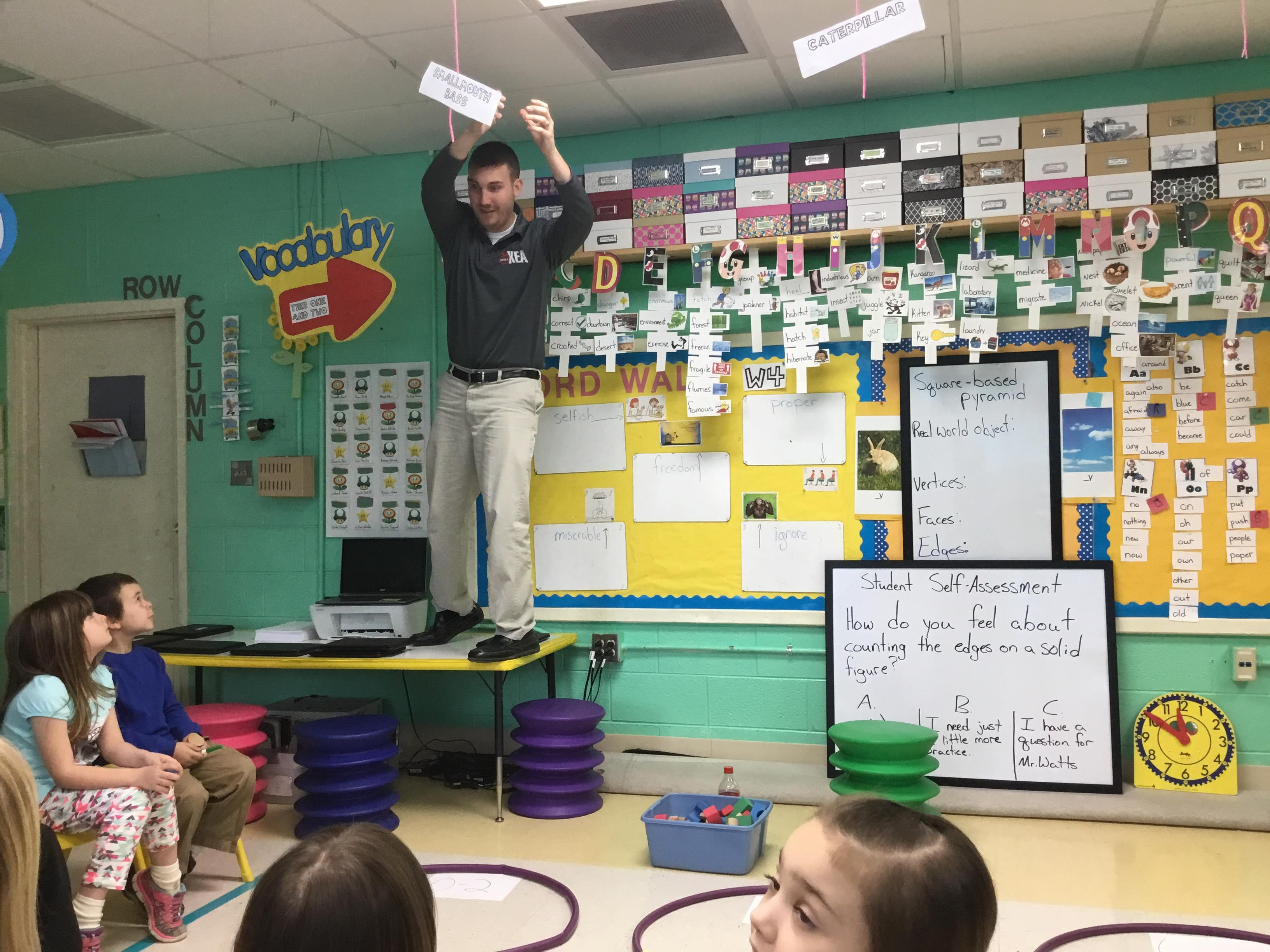 Innovative Kindergarten Classroom ~ Classroom innovation visible at letcher elementary the