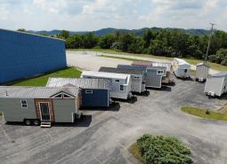 TIny House aerial view