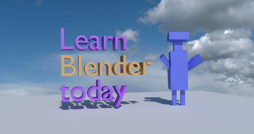 Learn Blender Today! - The Holler