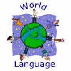 Holler logo of WORLD LANGUAGE