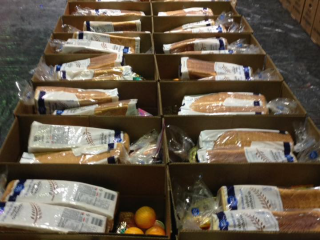 Empty Stocking Fund Meal Boxes