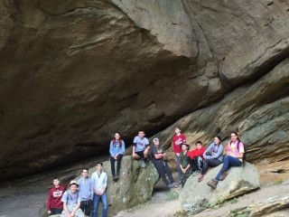 Hike to Sand Caves