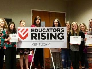 Educators Rising State Conference Scholars Student Senators
