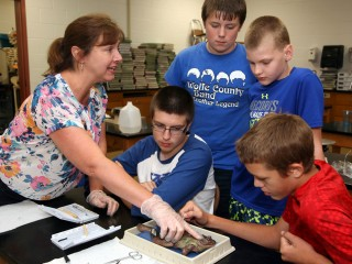 Beth Thompson explains how to disect a frog