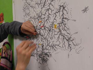 knott county map