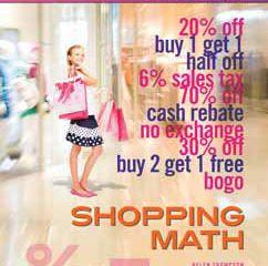 Math Shopping Book